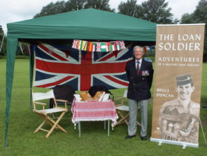 Bruce Duncan at Banbury Armed Forces Day