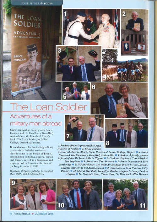 Four Shires Magazine feature